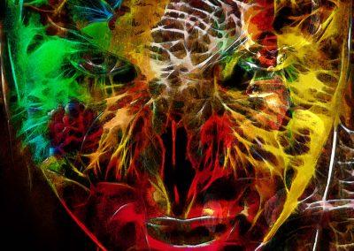 Multi – coloured; Colourful; Face; Mask